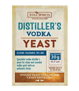 SS Distiller's Yeast Vodka 20g