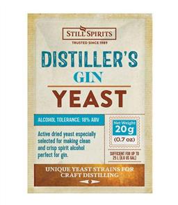 SS Distiller's Yeast Gin 20g