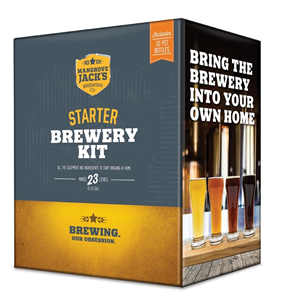Starter Brewery Kit with Bottles