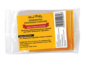 Fermented Vegetable Culture Sachets x 5