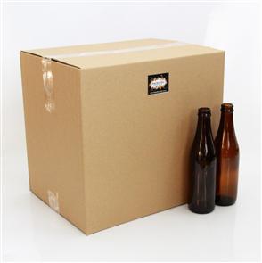Amber Beer Bottles 330ml x20