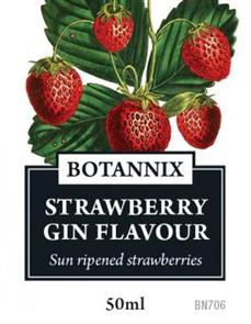 Gin Flavour Strawberry, 50ml