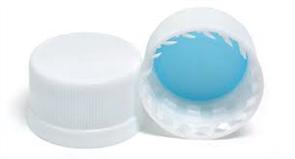 PET Bottle Lids/Caps x50 White