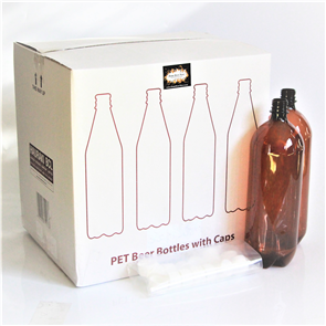 10x 2L PET Bottles + Caps