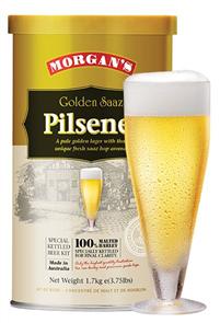 Morgan's Golden Saaz Pilsener 1.7KG
