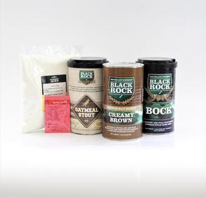 Black Rock Rum & Raisin Milk Stout Recipe Kit