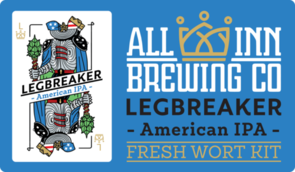 Leg Breaker American IPA Wort 15 Litres