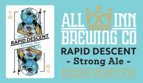 Rapid Descent Strong Ale Wort 15 Litres