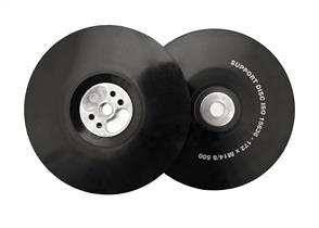 FLEXIPADS 11532 Back Up Pad Soft 180mm M14 x 2.0 Black