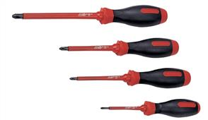 KING TONY KT14710104 Screwdriver Insulated PH #1 x 100mm