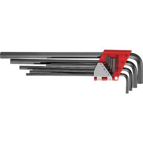 TENG Hex Key Set Extra Long 9Pce 1.5-10mm 1479MMRL