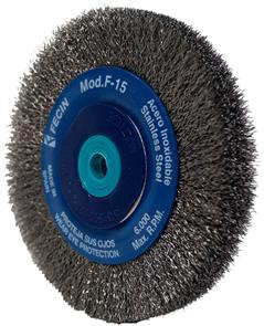 FECIN Crimp Wheel S/S F15 200x20 30mm 0.30