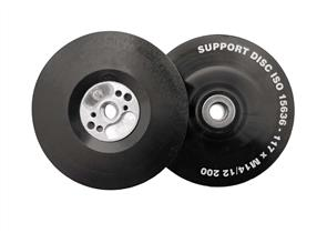 FLEXIPADS 11523 Back Up Pad Soft 125mm M14 x 2.0 Black