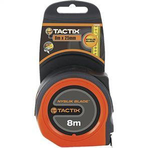 TACTIX Tape Measure 8m x 25mm 235345