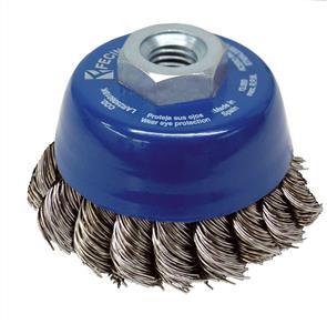 FECIN TK Cup Brush Inox  65mm x M14 0,50