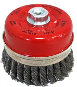 FECIN TK Cup Brush Steel 125mm x M14 0,50