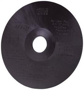 3M 64861 Red Fibre Disc Back Up Pad 125mm XHard