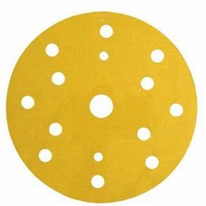 3M Hookit Gold Abrasive Disc 150mm 15H  100G (255P+)