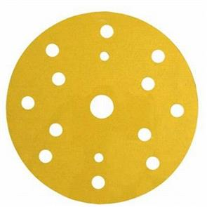 3M Hookit Gold Abrasive Disc 150mm 15H  240G (236U)