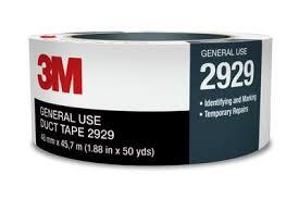 3M 2929 Utility Duct Tape 48mm x 45.7m Silver