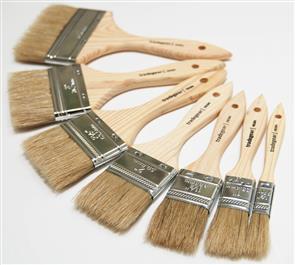 TRADEGEAR Resin Brush  25mm 7000/25