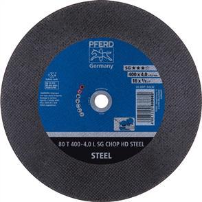 PFERD General Purpose Cut Off 80T 400x4.0mm A30 LSG TABLE