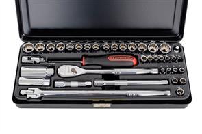 """GEARWRENCH 83067  38Pce 1/4"""" & 3/8"""" Metric & SAE Socket Set"""