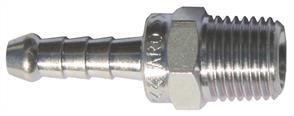 ARO Steel Tailpiece 1/4 BSP ( 6mm Hose)