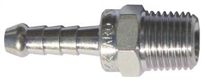 ARO Steel Tailpiece 1/4 BSP ( 8mm Hose)
