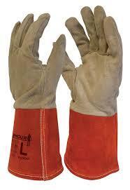 ARMOUR Deer Skin TIG Welding Gloves 30cm (Large)