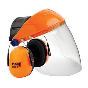 PRO SAFE Visor Combo with Ear Muff