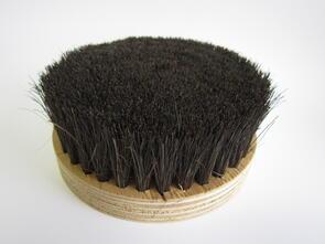 Bottom Brush 100mm Black 50mm Bristles