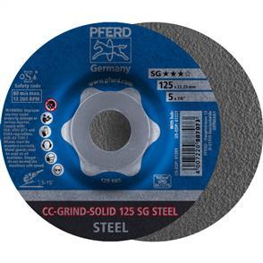 PFERD Combiclick Solid Grinding Disc 125mm SG Steel