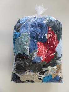 Coloured T/Shirt&Sweatshirt Rags 20kg