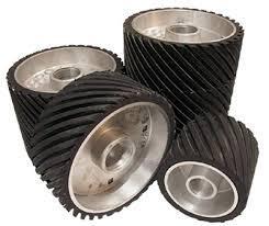 RUCOS Contact Wheel PS 250 x 100 x 44.45mm Medium