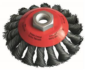 FECIN TK Conical Brush Steel 100mmxM14 (KBG)