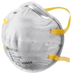 3M 8710 P1 Mask, Dust Mist (20)