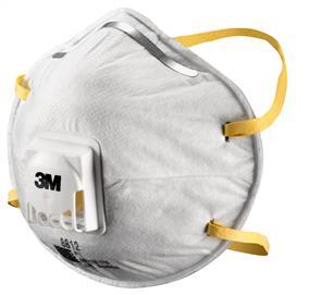 3M 8812 Mask, Dust Mist (10)