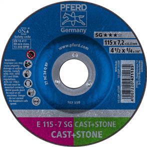 PFERD Masonry D/C Grinding Disc E 115x7.0mm C24 QSG