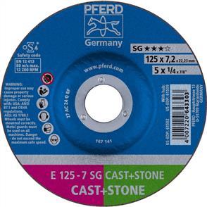 PFERD Masonry D/C Grinding Disc E 125x7.0mm C24 QSG