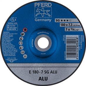 PFERD Aluminium D/C Grinding Disc E 178x7.0 A24 NSG