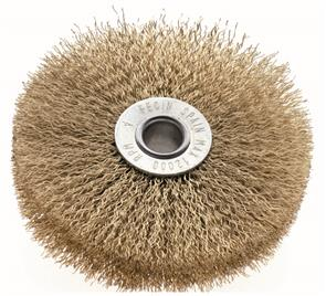 FECIN Crimped Bandsaw Brush 100x25mm
