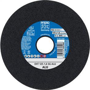 PFERD Aluminium Cut Off Disc EHT 125x1.6mm A46 NSG