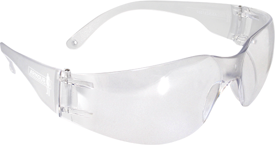 ARMOUR Clear Safety Glasses