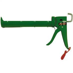 WORLDWIDE Caulking Gun Green H/D 265mm Ratchet Type
