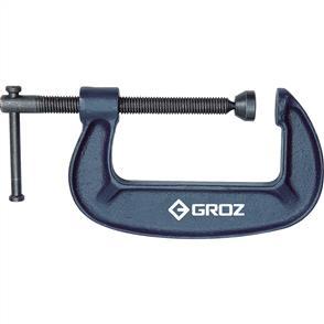 "GROZ G Clamp 6"" / 150mm / Throat Depth 75mm"