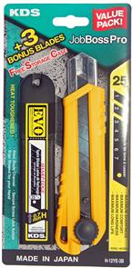 EVO Black Twistlock Knife 25mm H-12Ye