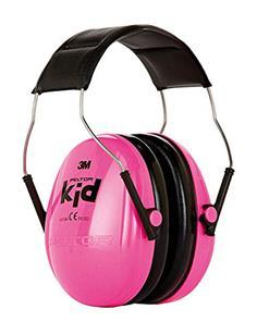 3M Ear Muff Fluorescent Pink H510AK-442-RE