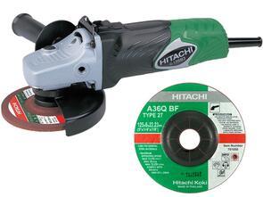 HITACHI Grinding Disc 125X6mm 701050 (Red/Brown)