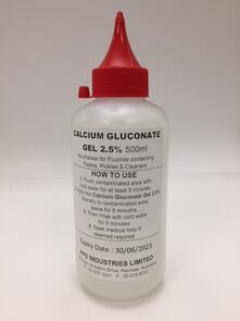 Calcium Gluconate Gel 500ml